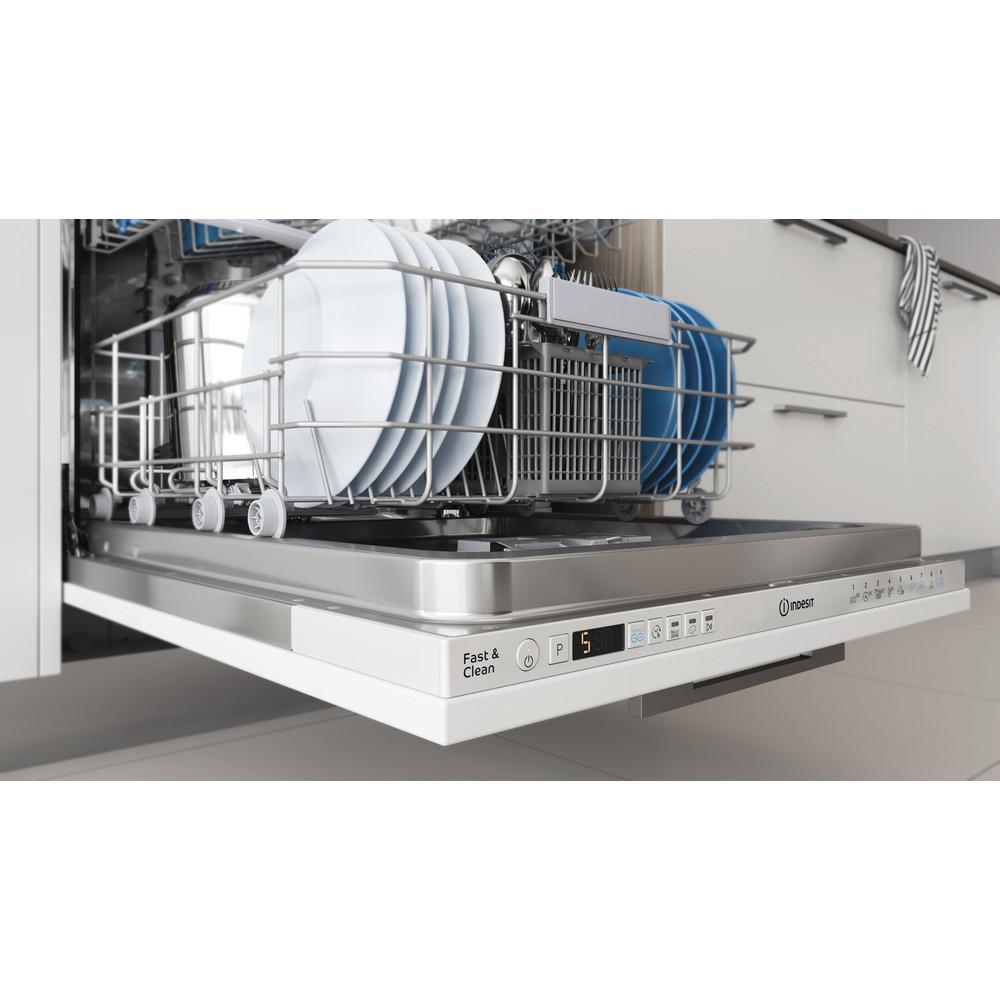 Indesit Umývačka riadu Vstavané DIO 3C24 AC E Full-integrated E Rack