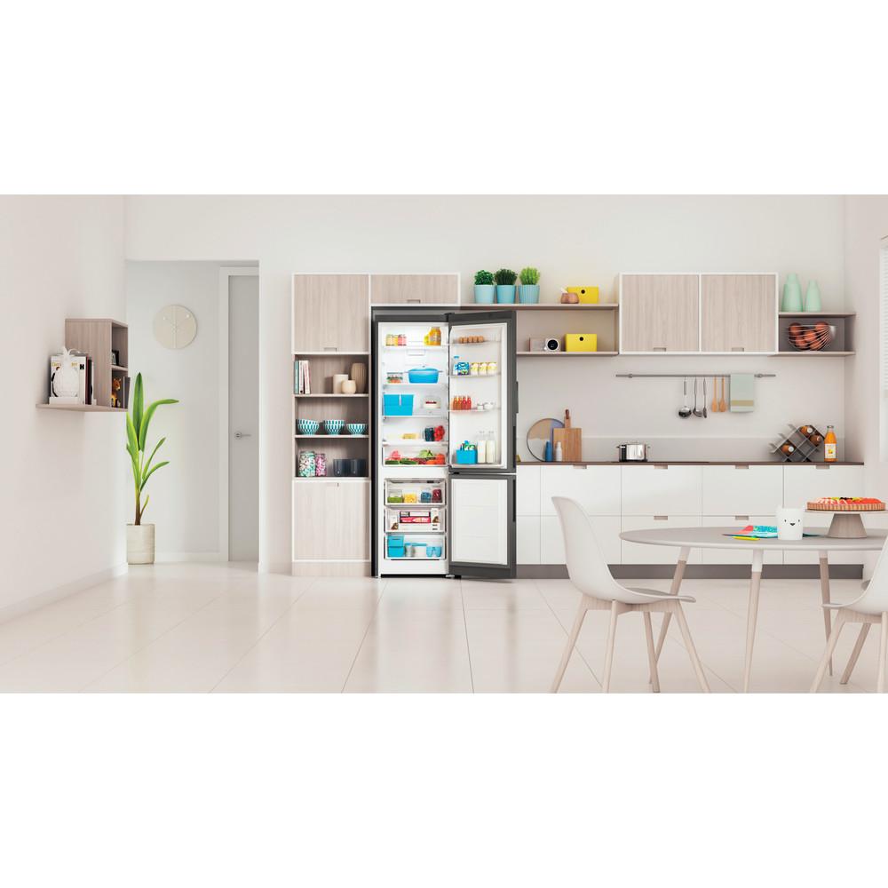 Indesit Холодильник с морозильной камерой Отдельностоящий ITD 5200 S Серебристый 2 doors Lifestyle frontal open