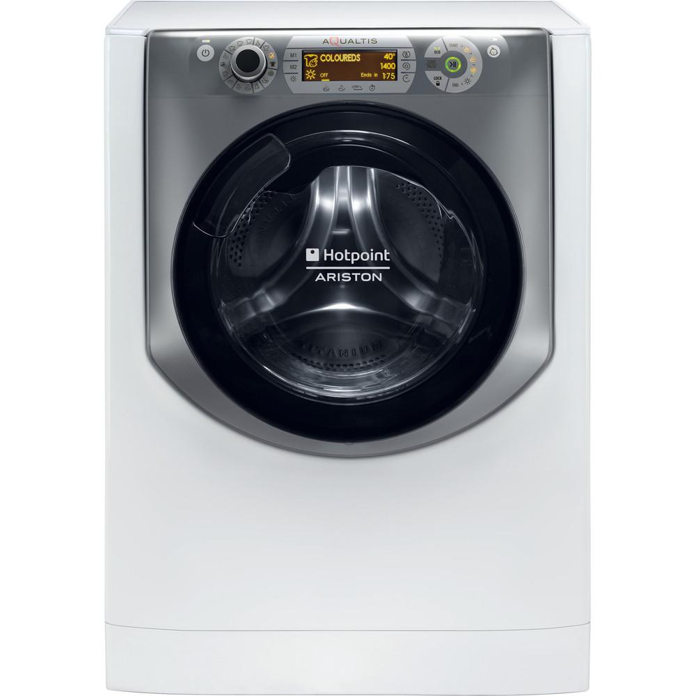 Hotpoint_Ariston Maşină de spălat rufe cu uscător Neincorporabil AQD970D 49 EU/B Alb Încărcare frontală Frontal