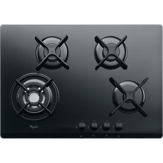 Taque de cuisson au gaz AKT 5000/NB Whirlpool - Encastrable - 4 brûleurs gaz