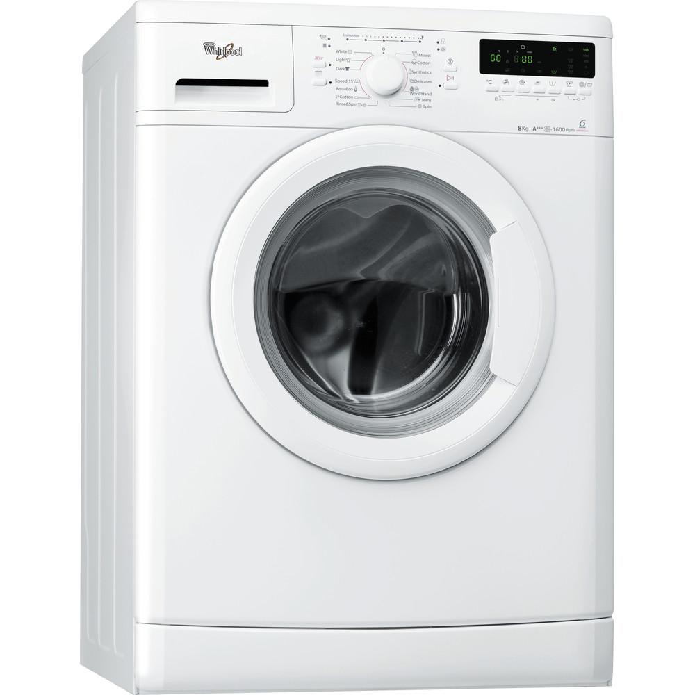 Whirlpool frontmatad tvättmaskin: 8 kg - AWO/D 8246