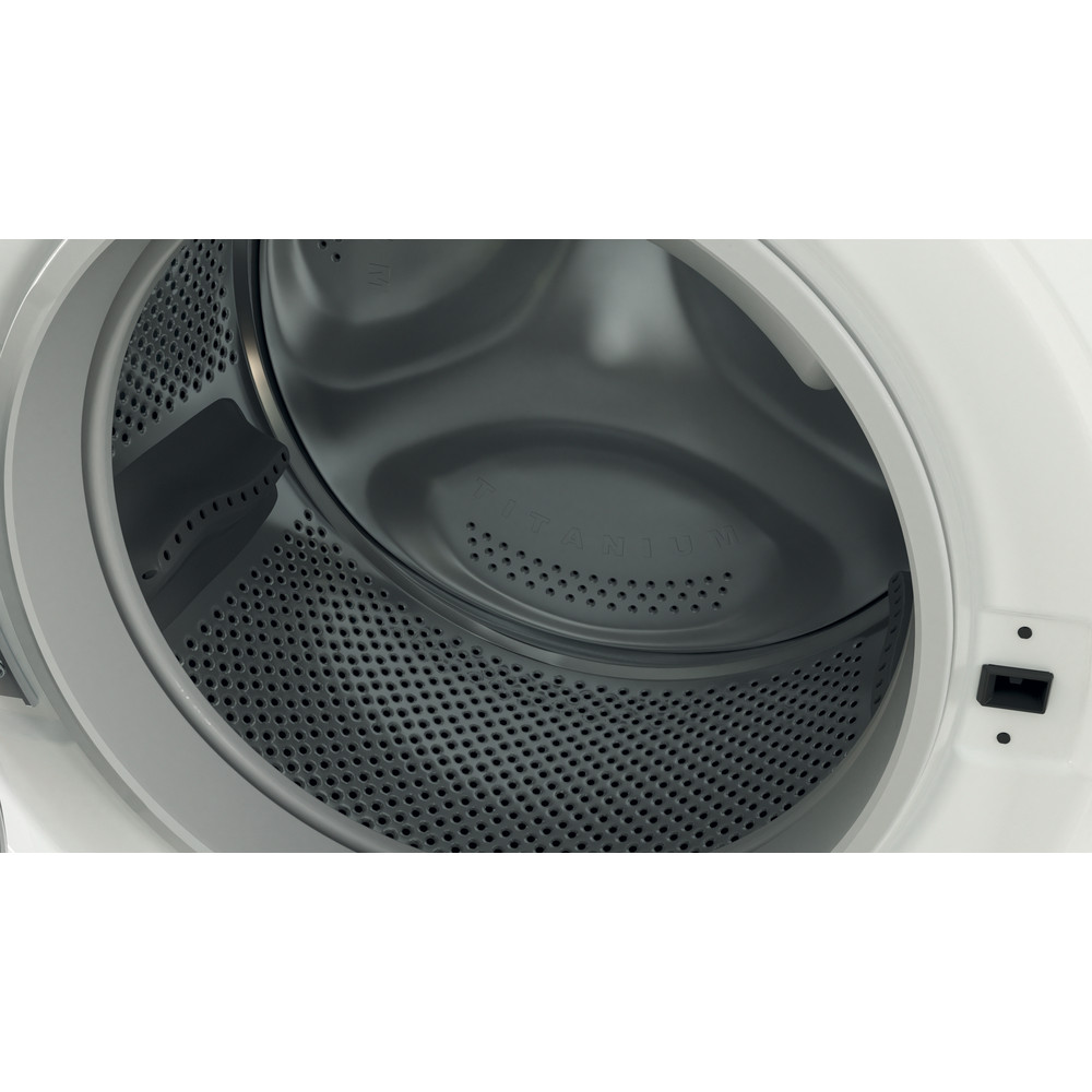 Indesit Mašina za pranje i sušenje veša Samostojeći BDE 1071682X WS EE N Bijela Front loader Drum