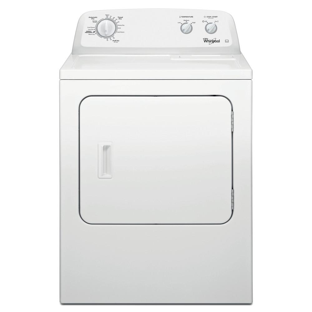 Whirlpool Dryer 4KWED4705FW White Frontal