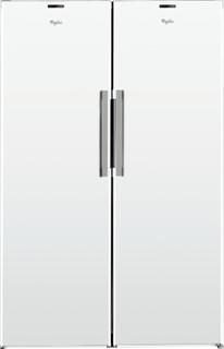 Vapaasti sijoitettava Whirlpool jääkaappi: Valkoinen - SW8 AM2Y WR