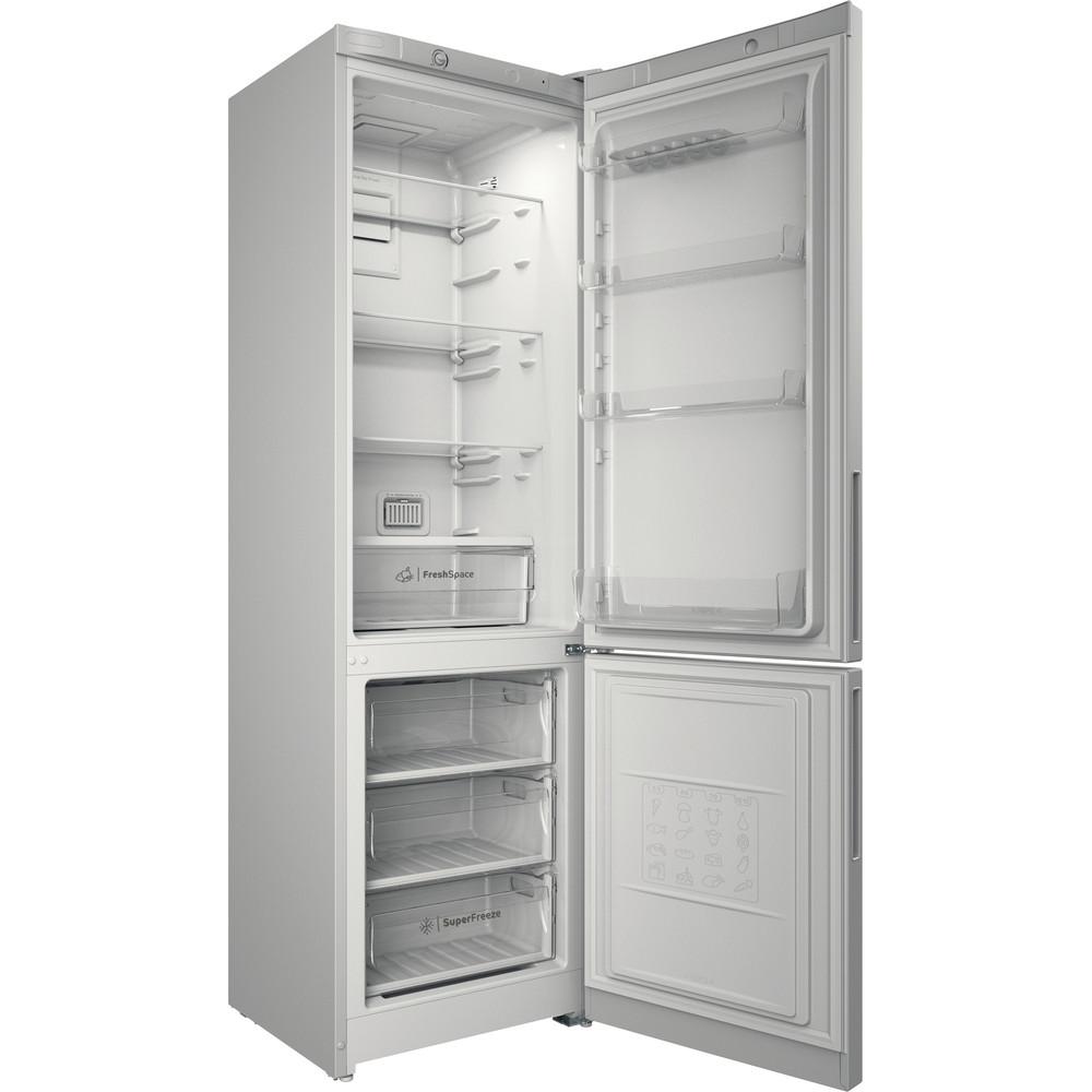 Indesit Холодильник с морозильной камерой Отдельностоящий ITD 4200 W Белый 2 doors Perspective open