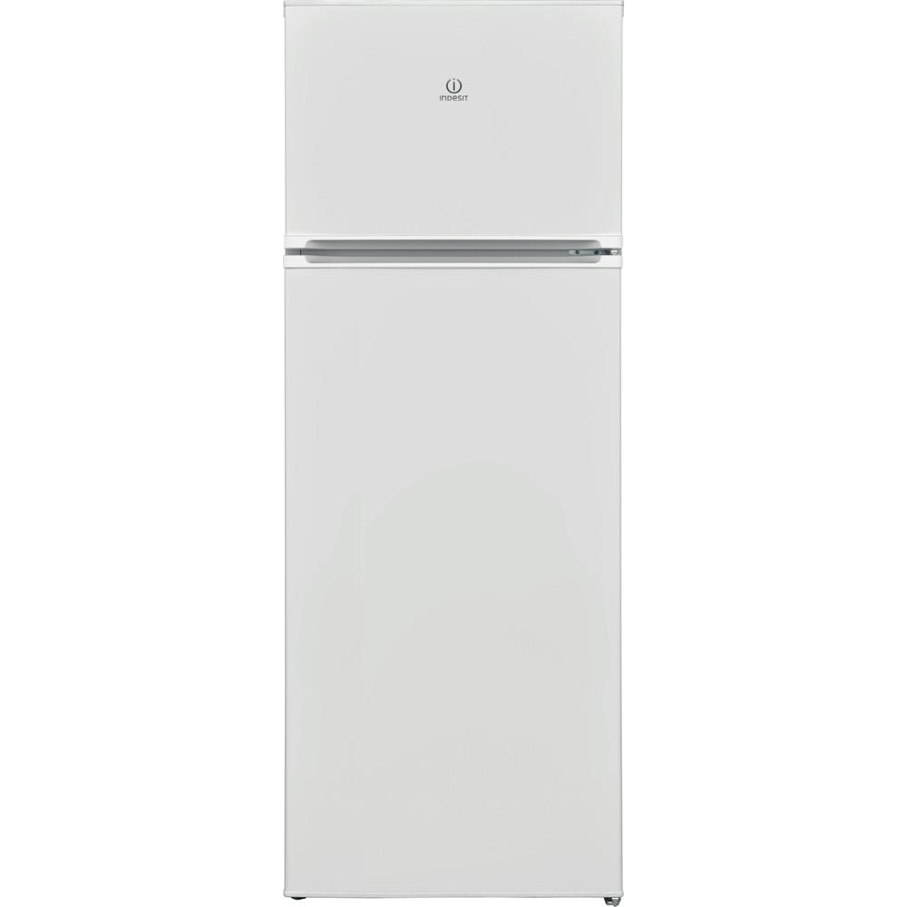 Indesit Combinazione Frigorifero/Congelatore A libera installazione I55TM 4120 W Bianco 2 porte Frontal