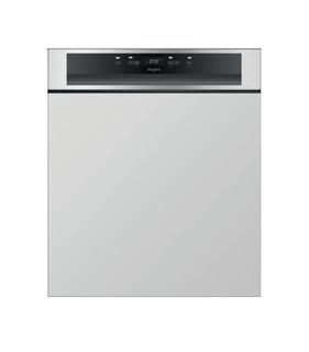 Lave-vaisselle semi-encastrable Whirlpool: couleur inox, standard - WBC 3C26 PF X