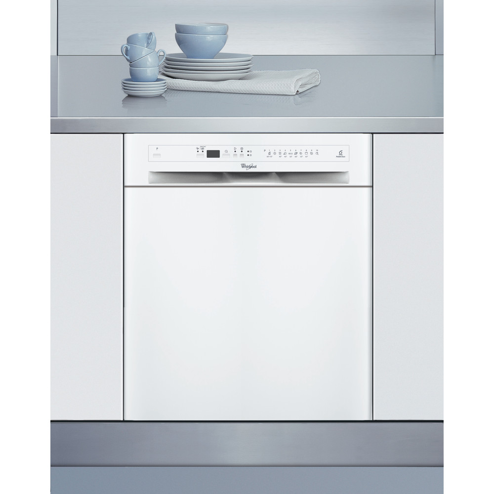 Whirlpool diskmaskin: färg vit, 60 cm - ADPU8783 A++PCTR 6S WH