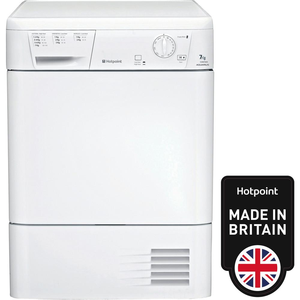 Hotpoint Dryer CDN 7000B P (UK) White Frontal