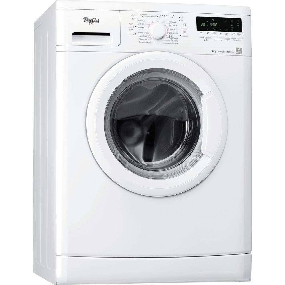 Whirlpool frontmatad tvättmaskin: 7 kg - AWO/D 7414