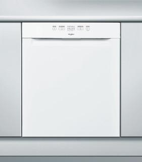Whirlpool-opvaskemaskine: hvid farve, fuld størrelse - WUE 2B16