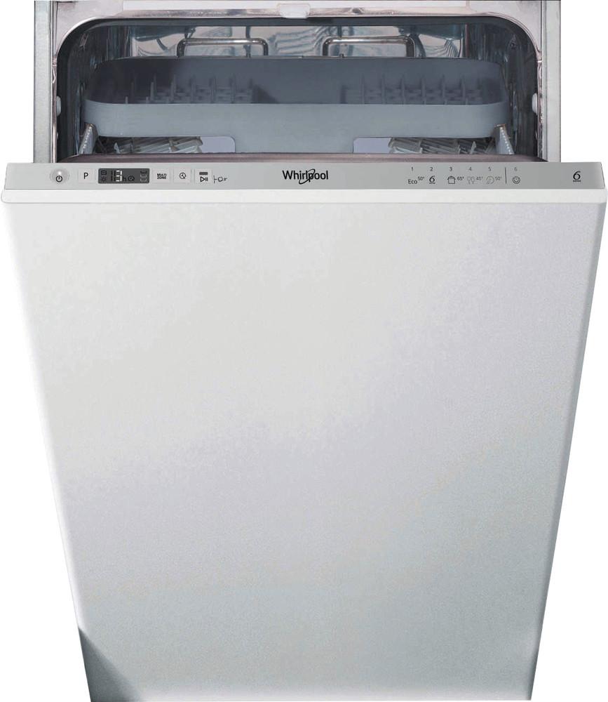 Whirlpool Indaplovė Įmontuojamas WSIC 3M27 C Full-integrated E Frontal