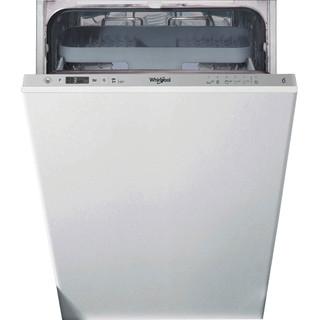Whirlpool Trauku mazgājamā mašīna Iebūvējams WSIC 3M27 C Full-integrated E Frontal