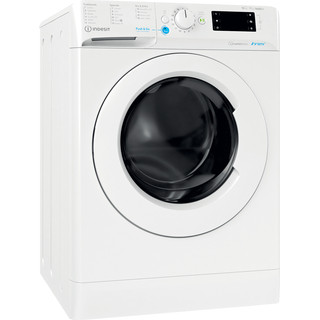 Indesit Washer dryer Free-standing BDE 1071682X W UK N White Front loader Perspective