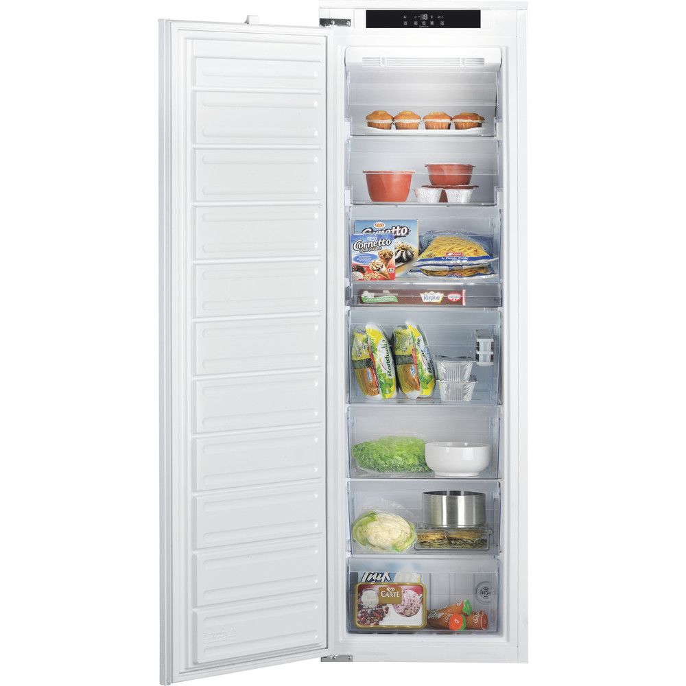 Hotpoint Freezer Built-in HF 1801 E  F AA.UK White Frontal open