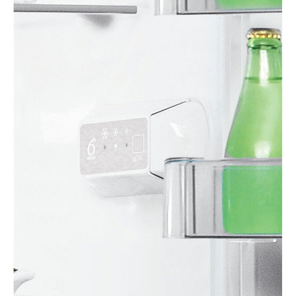 Indesit Комбиниран хладилник с камера Свободностоящи LI8 S1 W Бял 2 врати Lifestyle control panel