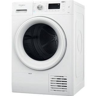 Whirlpool Dryer FFT M11 8X2 UK White Perspective
