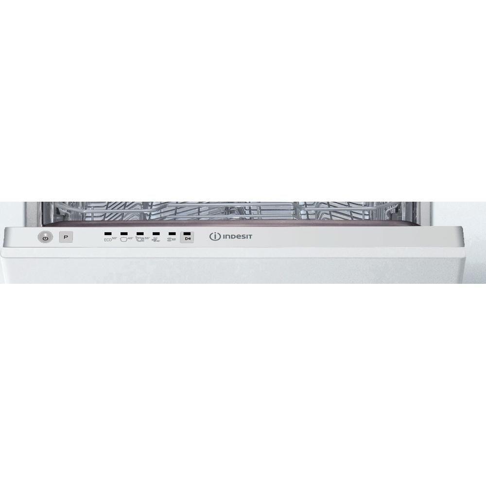 Indesit Nõudepesumasin Sisseehitatav DSIE 2B19 Full-integrated F Control panel