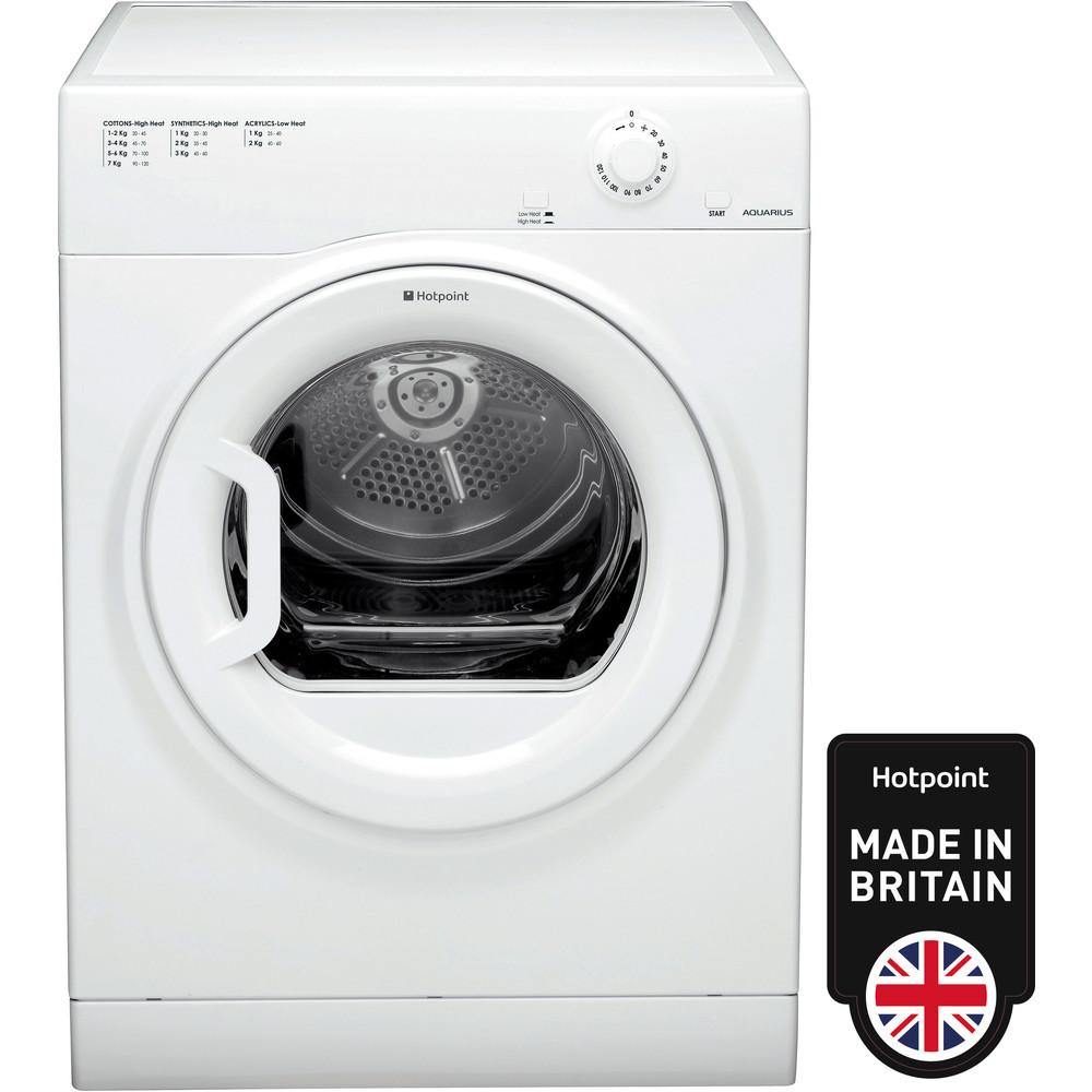 Hotpoint Dryer TVFM 70B GP (UK) White Frontal