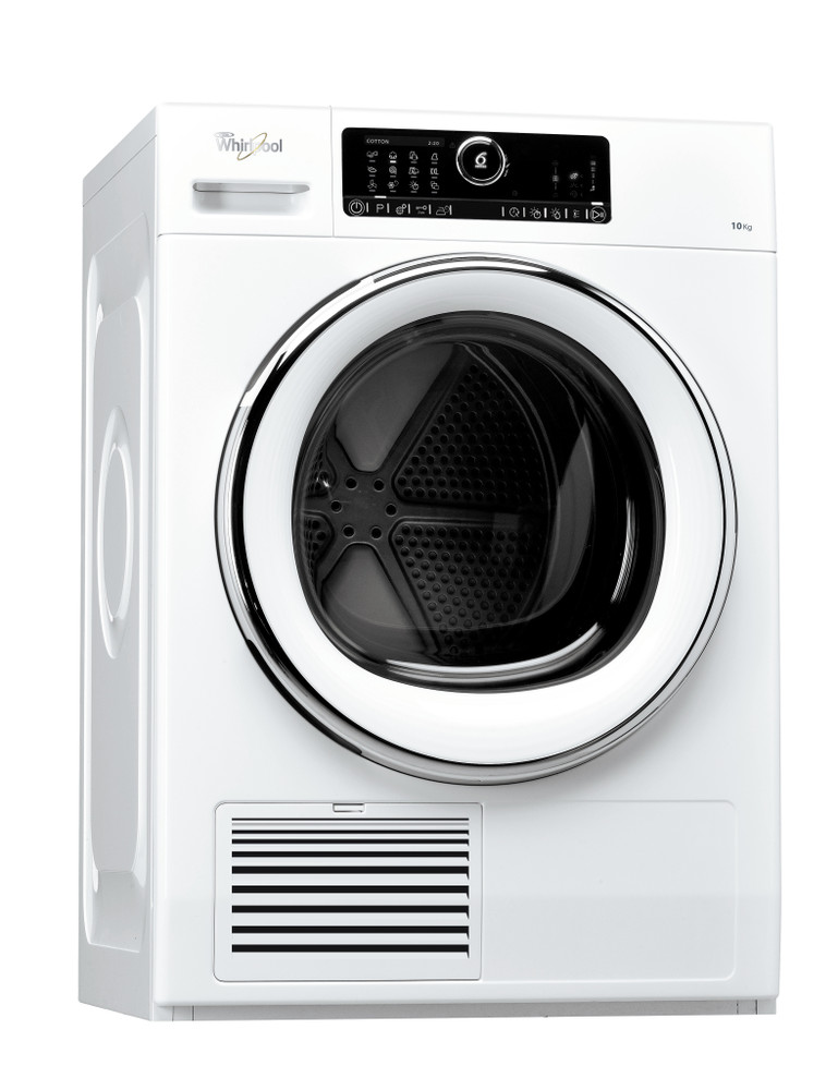 Whirlpool Dryer DSCX 10122 White Perspective