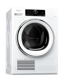 Whirlpool condenser tumble dryer: freestanding, 10kg - DSCX 10122