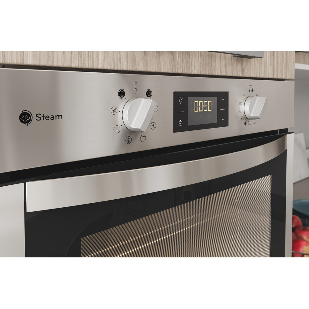 Indesit OVEN Built-in DFWS 5544 C IX UK Electric A Lifestyle control panel