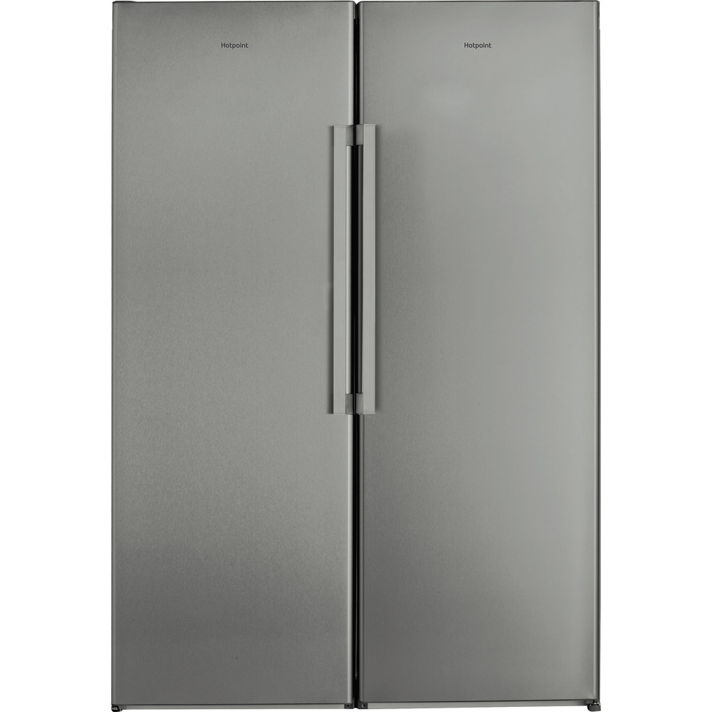 Hotpoint Refrigerator Free-standing SH6 A1Q GRD 1 Graphite Frontal