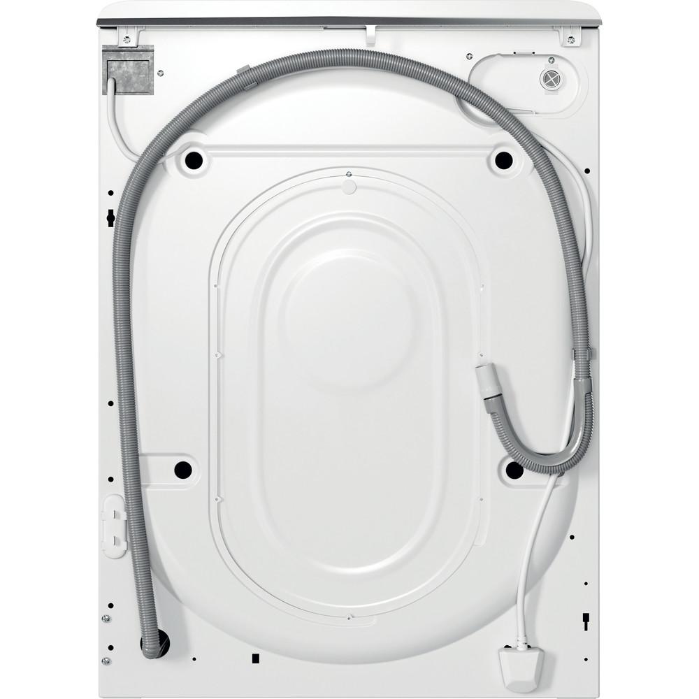 Indsit Maşină de spălat rufe Independent MTWA 81283 W EE Alb Încărcare frontală A +++ Back / Lateral