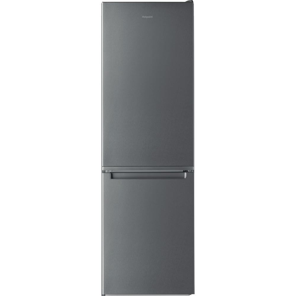 Hotpoint Fridge-Freezer Combination Free-standing H3T 811I OX 1 Optic Inox 2 doors Frontal