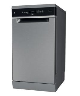 Whirlpool mosogatógép: Inox szín, keskeny - WSFO 3O34 PF X