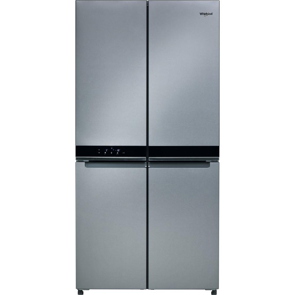 Холодильник Whirlpool side-by-side: колір нержавіючої сталі - WQ9 E1L