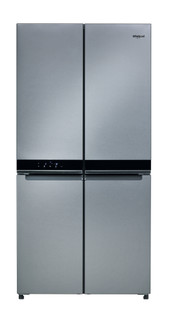 Whirlpool Side-by-Side amerikai típusú hűtőszekrény: Inox szín - WQ9 E1L