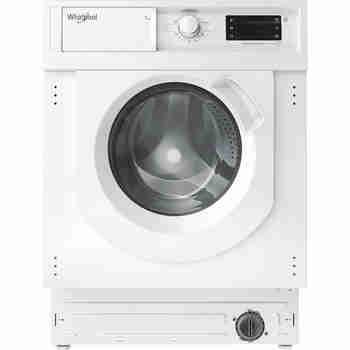 Whirlpool Maşină de spălat rufe Încorporabil BI WMWG 71483E EU N Alb Încărcare frontală D Frontal