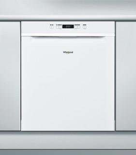 Whirlpool-opvaskemaskine: hvid farve, fuld størrelse - WUC 3B16
