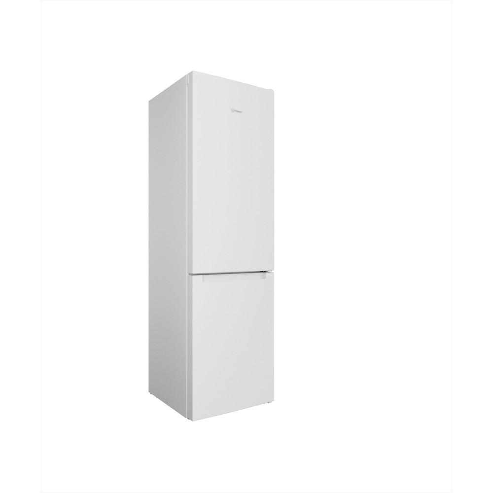 Indesit Kombinovaná chladnička s mrazničkou Voľne stojace INFC9 TI22W Biela 2 doors Perspective