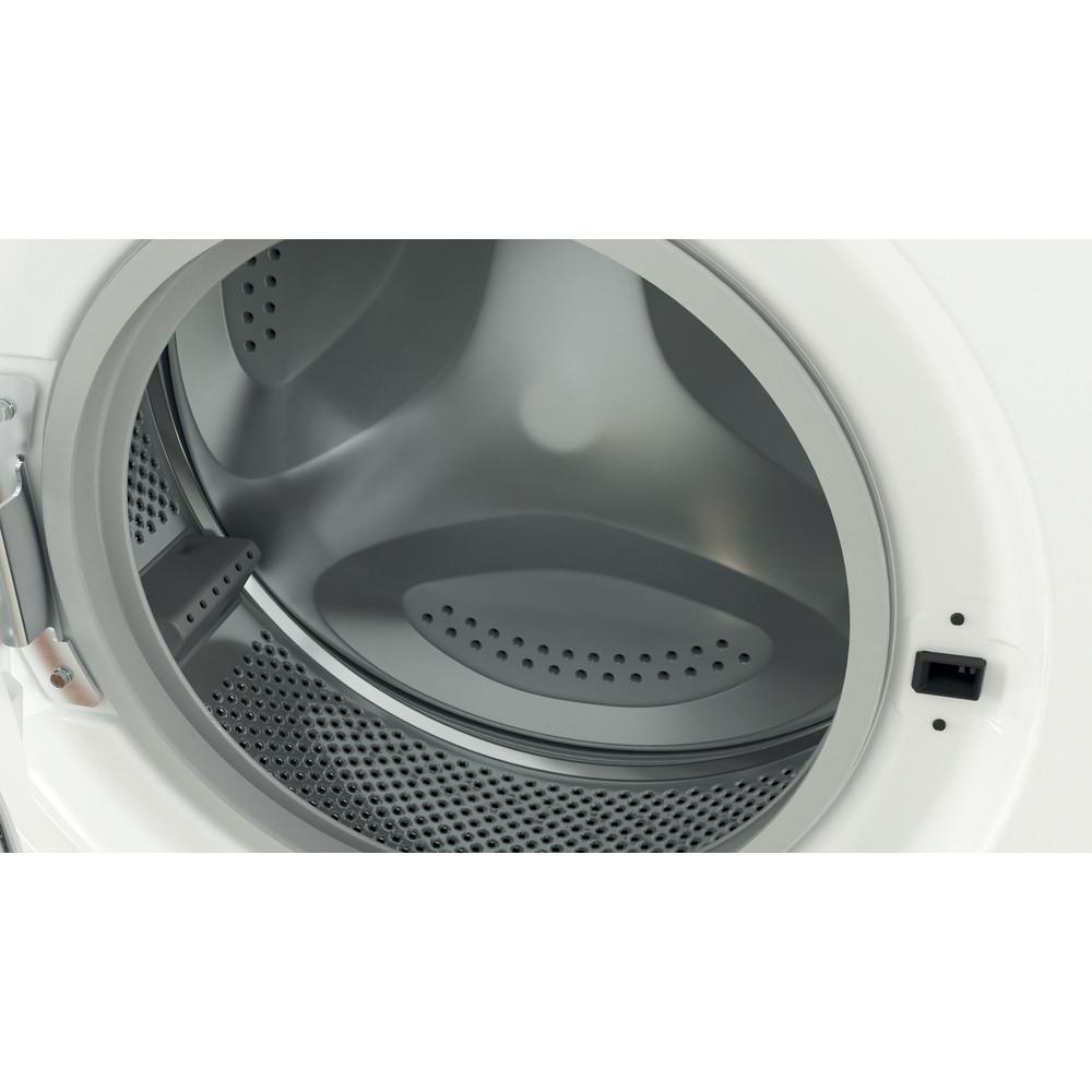"""""""Indesit"""" Skalbimo mašina Laisvai pastatoma EWUD 41051 W EU N Balta Pakraunama iš priekio F Drum"""