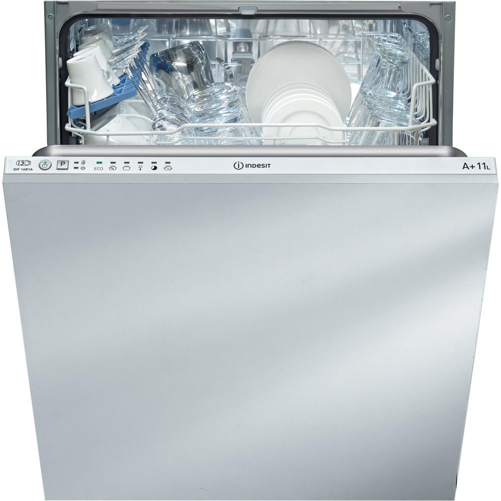 Indesit Dishwasher Built-in DIFM 16B1 UK Full-integrated A Frontal