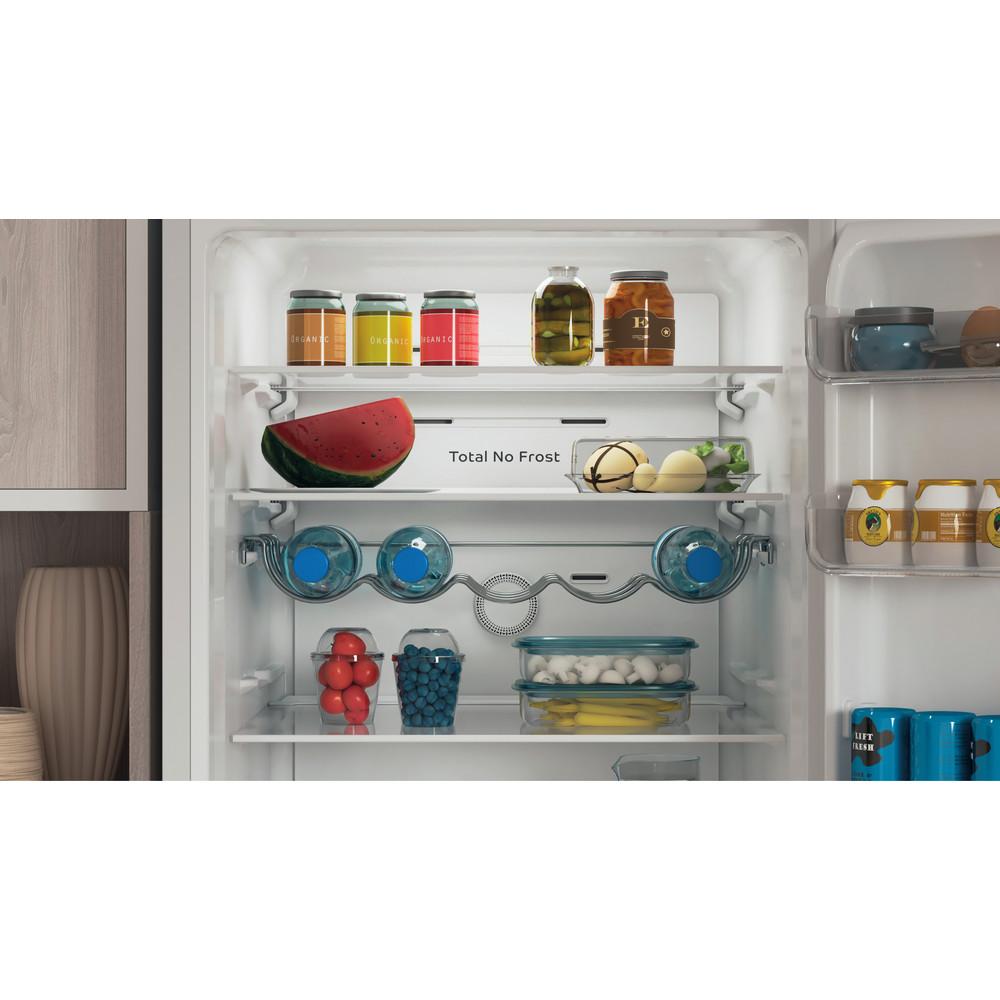Indesit Combinación de frigorífico / congelador Libre instalación INFC9 TI22W Blanco 2 doors Lifestyle detail