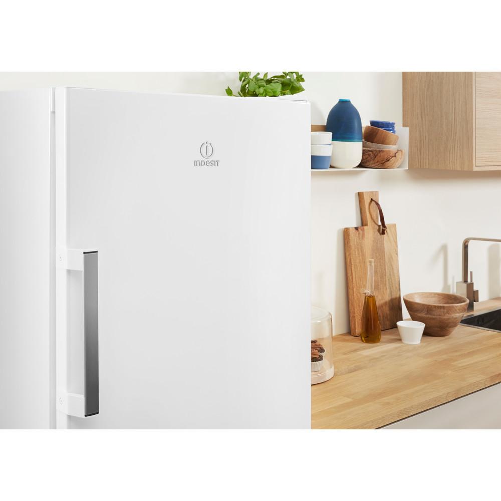 Indesit Réfrigérateur Pose-libre SI6 1 W Blanc Lifestyle detail