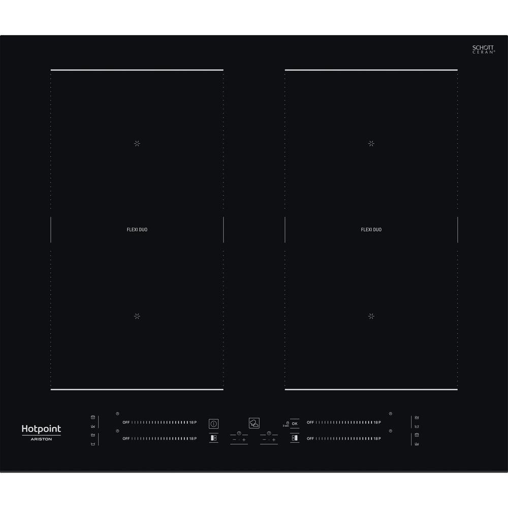 Hotpoint_Ariston Piano cottura HS 2560C BF Nero Induction vitroceramic Frontal