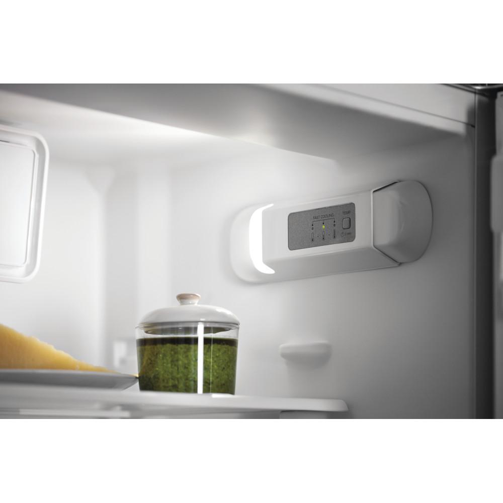 Indesit Combinazione Frigorifero/Congelatore Da incasso B 18 A1 D V E S/I 1 Bianco 2 porte Lifestyle control panel