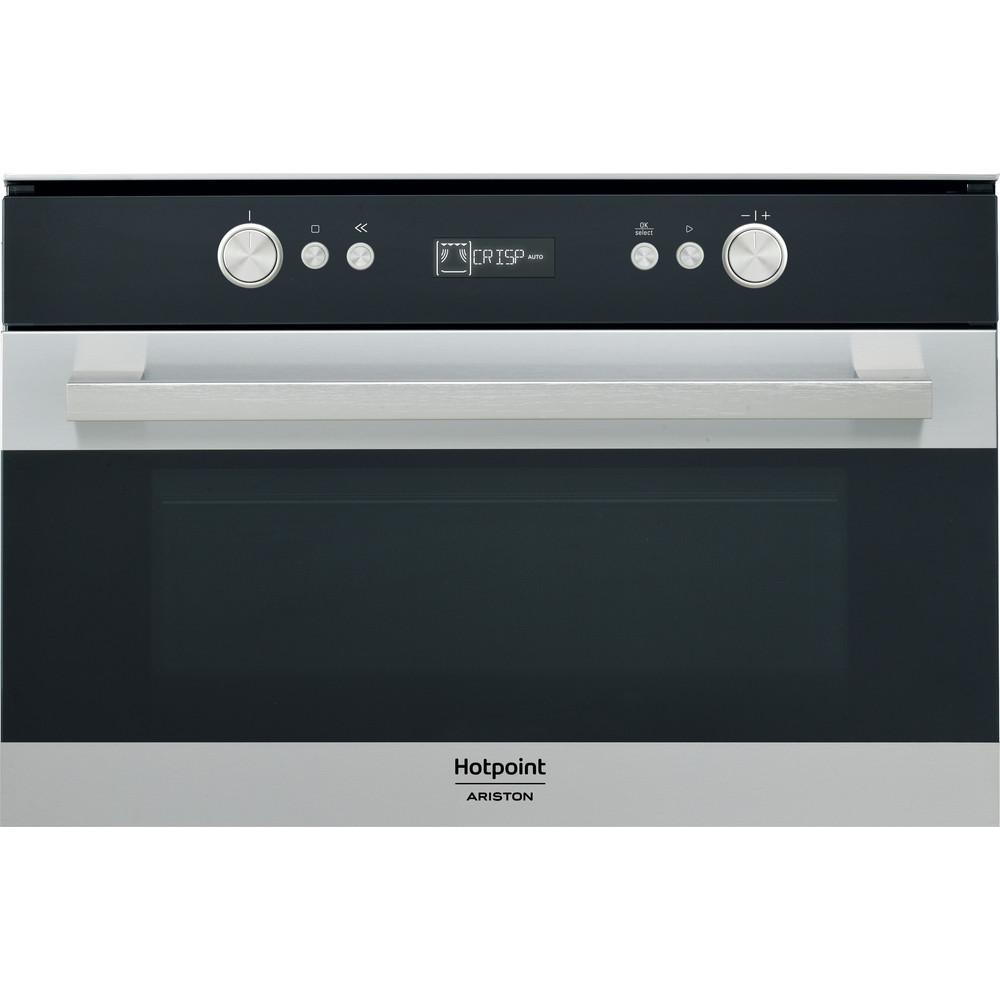 Hotpoint_Ariston Microonde Da incasso MD 764 IX HA Inox Elettronico 31 Microonde + grill 1000 Frontal