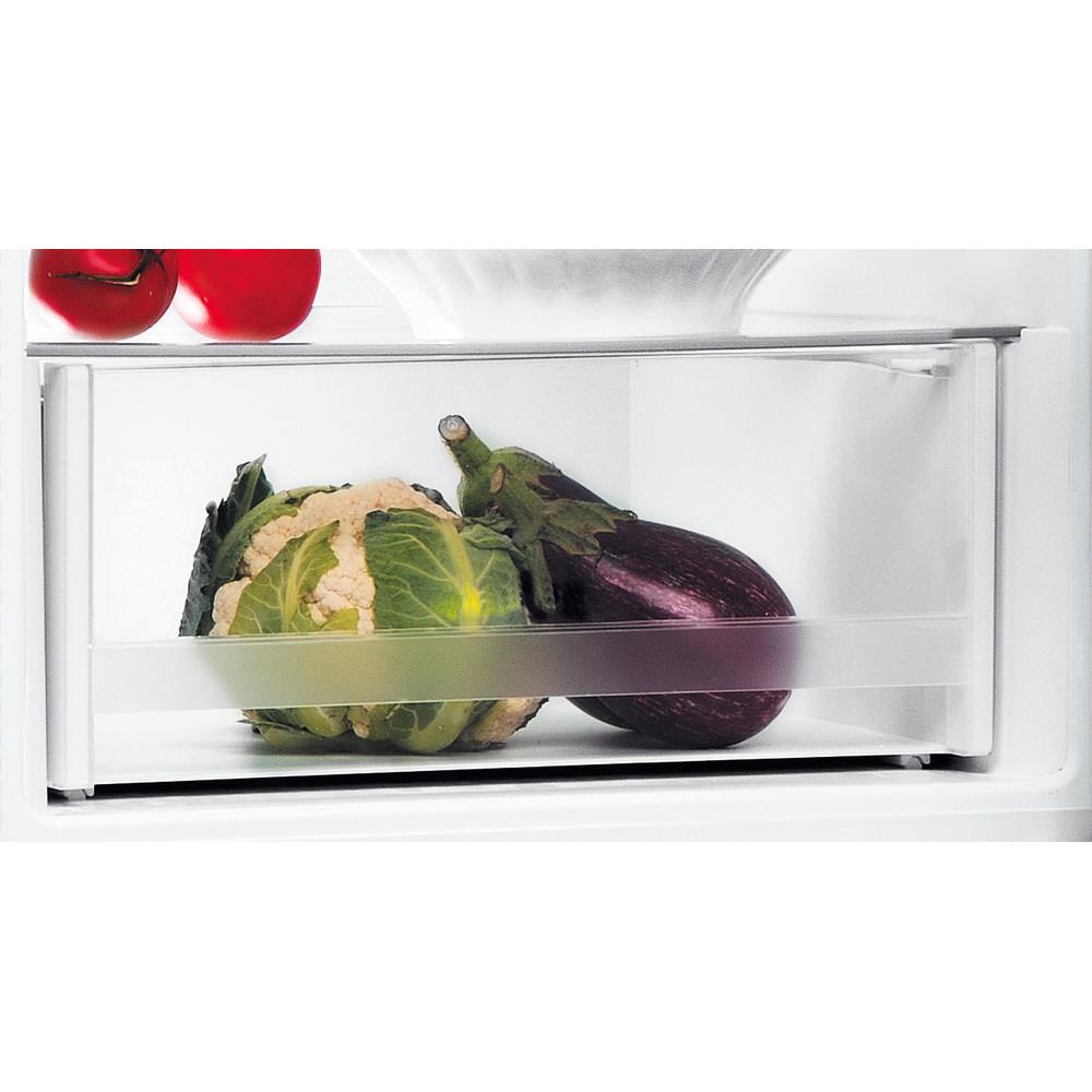 Indesit Réfrigérateur combiné Pose-libre LI8 S2E W Blanc 2 portes Drawer