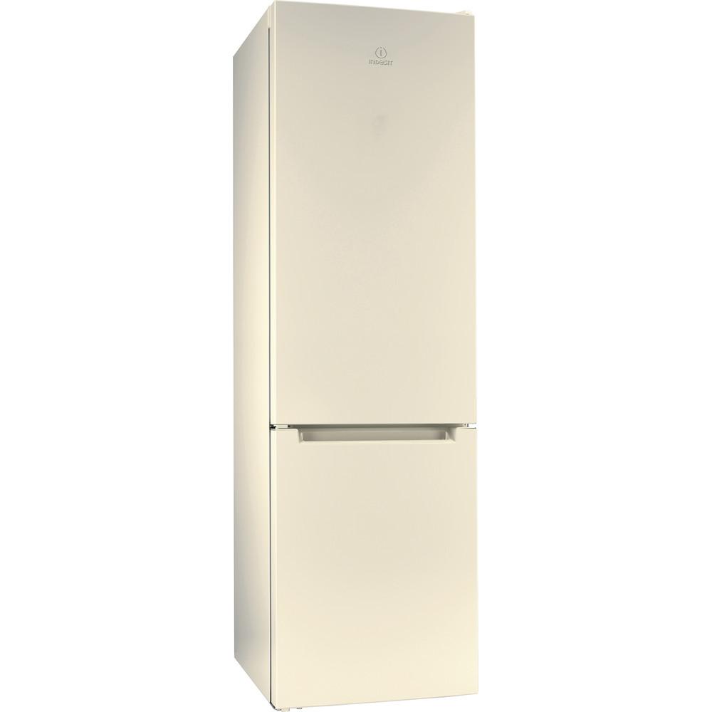 Indesit Холодильник с морозильной камерой Отдельностоящий DS 4200 E Розово-белый 2 doors Perspective