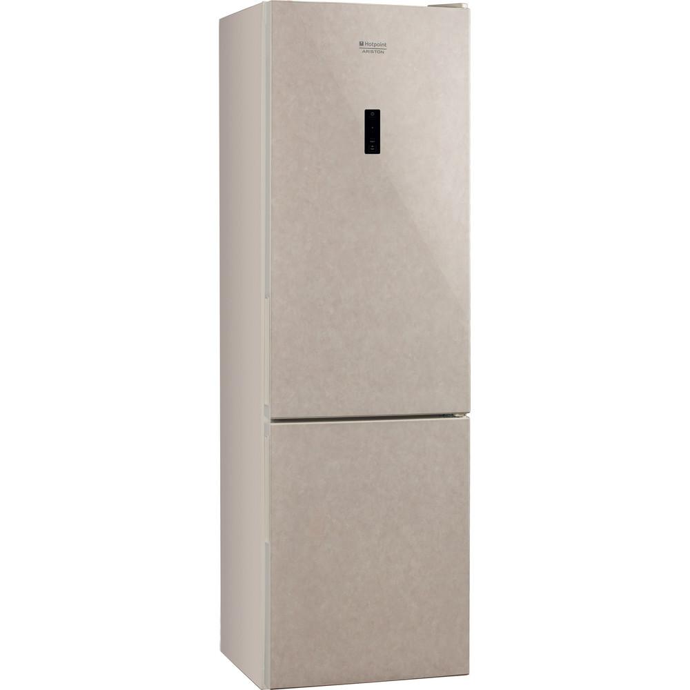 Hotpoint_Ariston Комбинированные холодильники Отдельностоящий HF 5180 M Мраморный 2 doors Perspective