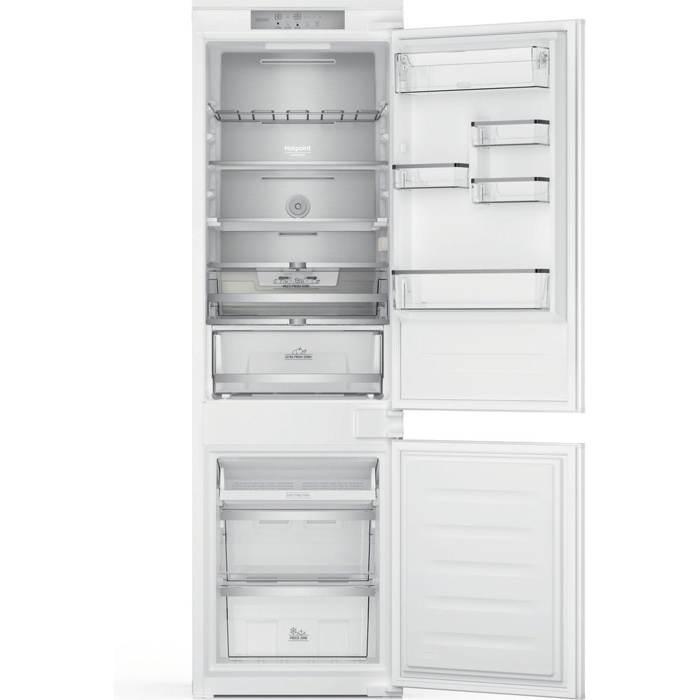 Hotpoint_Ariston Combinazione Frigorifero/Congelatore Da incasso HAC18 T563 Bianco 2 porte Frontal open