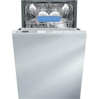 Посудомийна машина Indesit інтегрована: вузька, білий колір