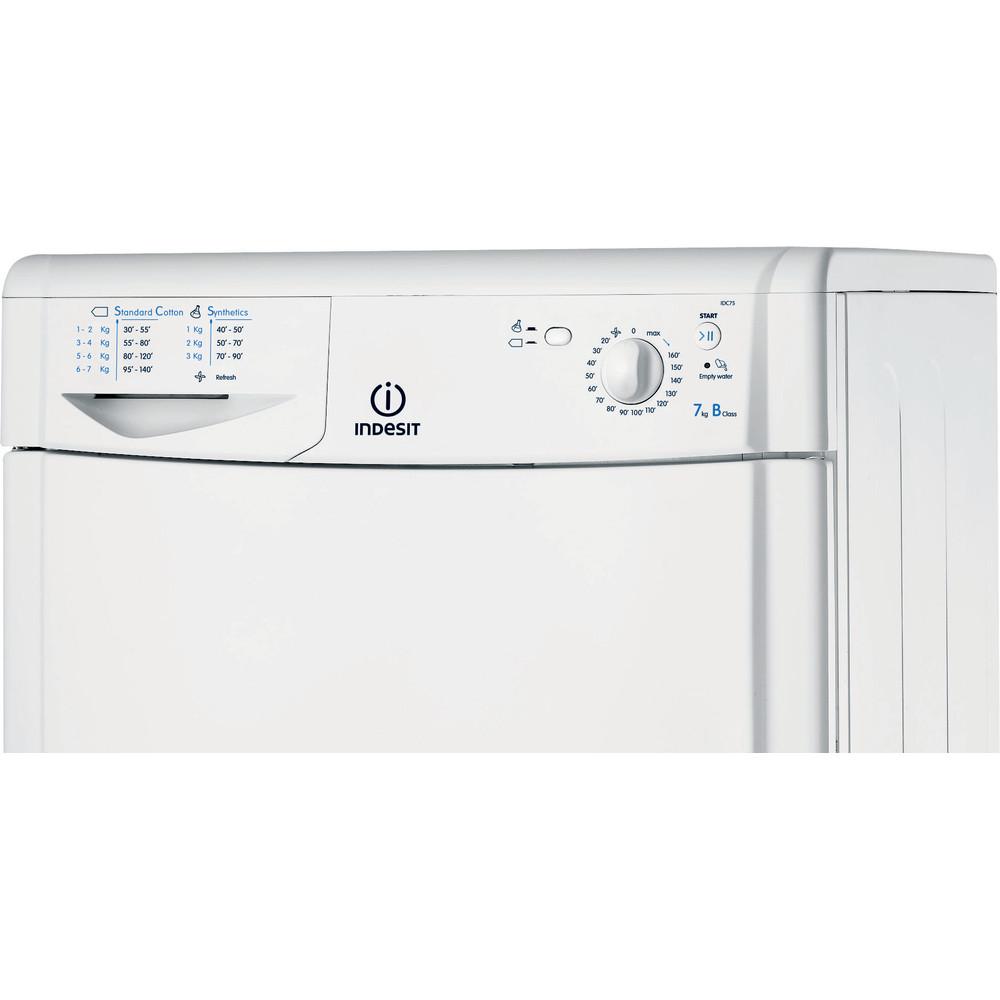 Indesit Dryer IDC 75 B (UK) White Control panel