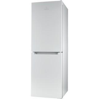 Indesit Kombinētais ledusskapis/saldētava Brīvi stāvošs LI7 SN1E W Balts 2 doors Perspective
