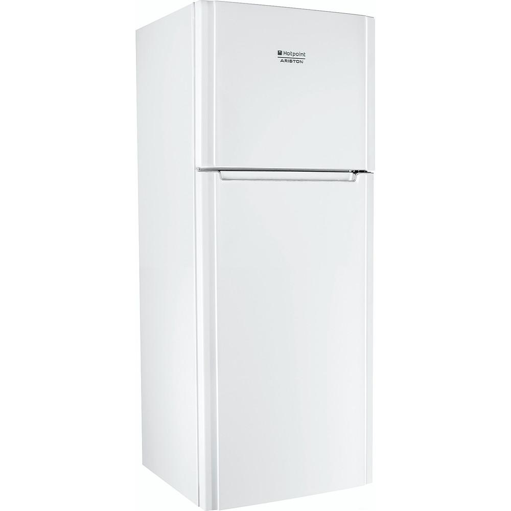 Hotpoint_Ariston Combinație frigider-congelator Neincorporabil ENTM 18210 VW Alb 2 doors Perspective